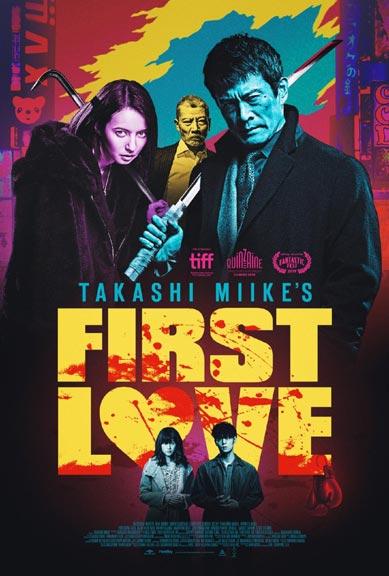 Poster van First Love van Miike Takashi.