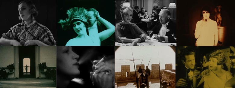 Stills uit Leonie, actrice en spionne van Annette Apon.